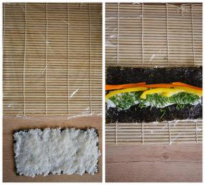 Anleitung California Sushi