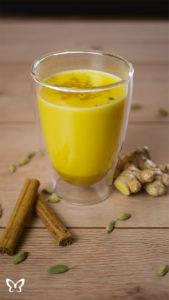 Goldene Milch - Ayurvedischer Kurkuma Latte