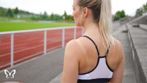 Nike Sport Bra von hinten