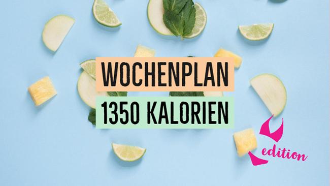 Kostenloser Wochenplan Zum Abnehmen 1400 Kalorien