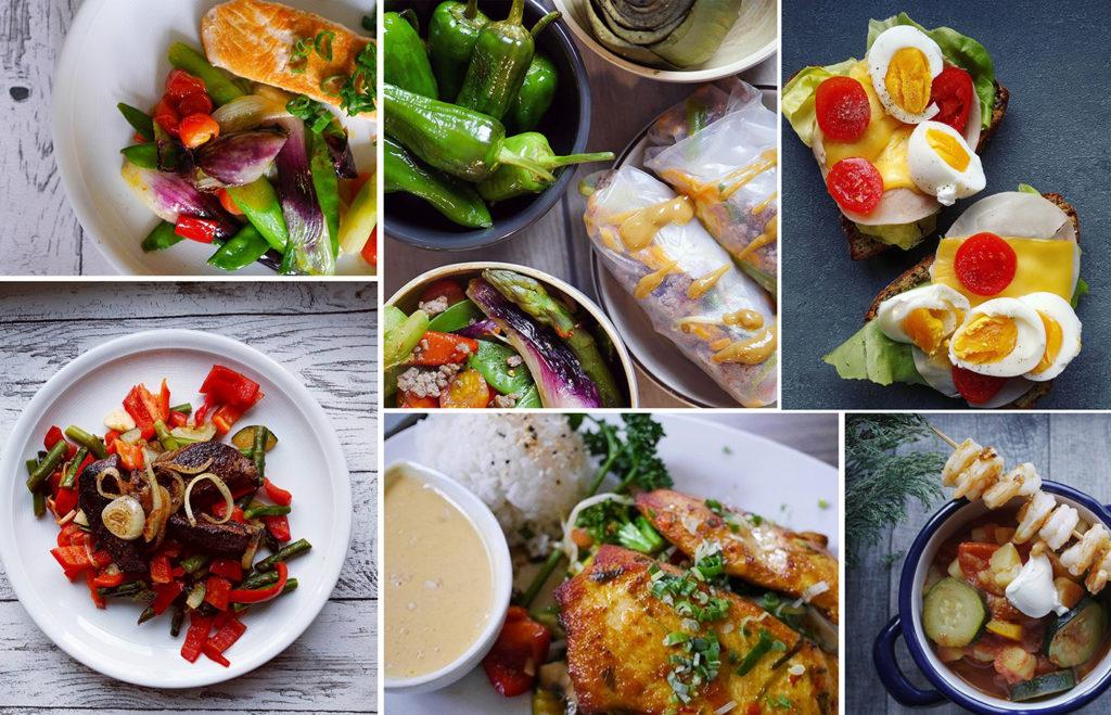 Abwechslungsreiches Diät Essen