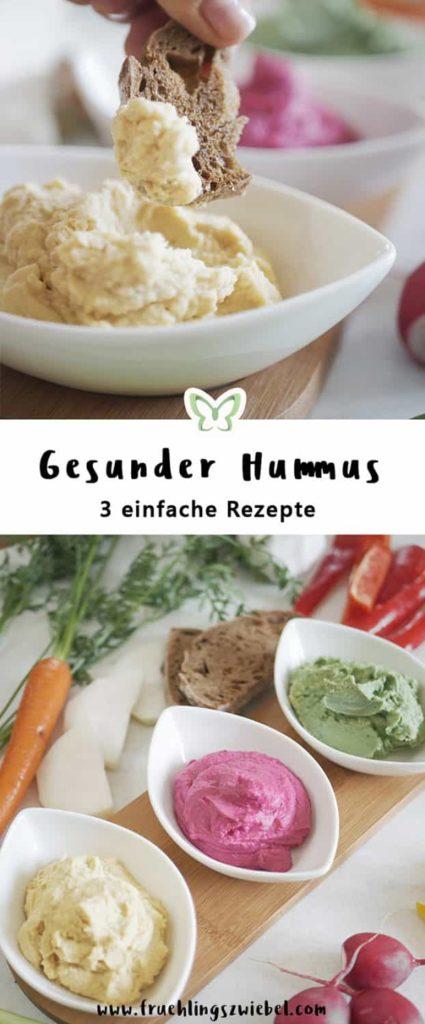 rote beete, avocado und natur hummus
