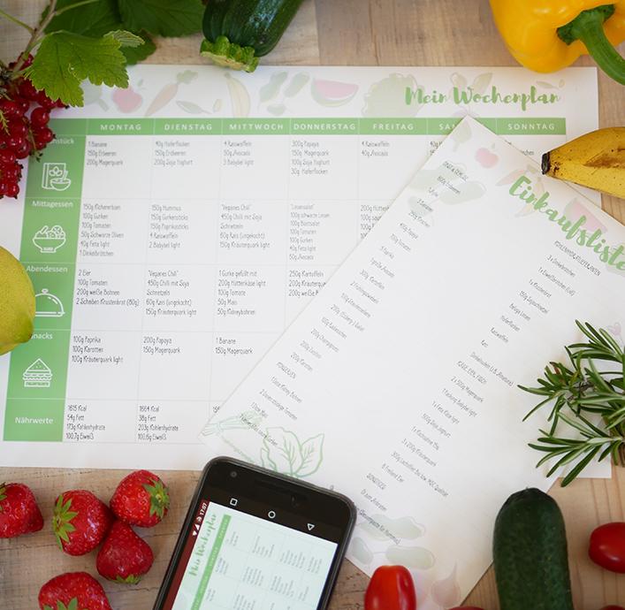 Kostenloser Wochenplan Zum Abnehmen Vegetarisch