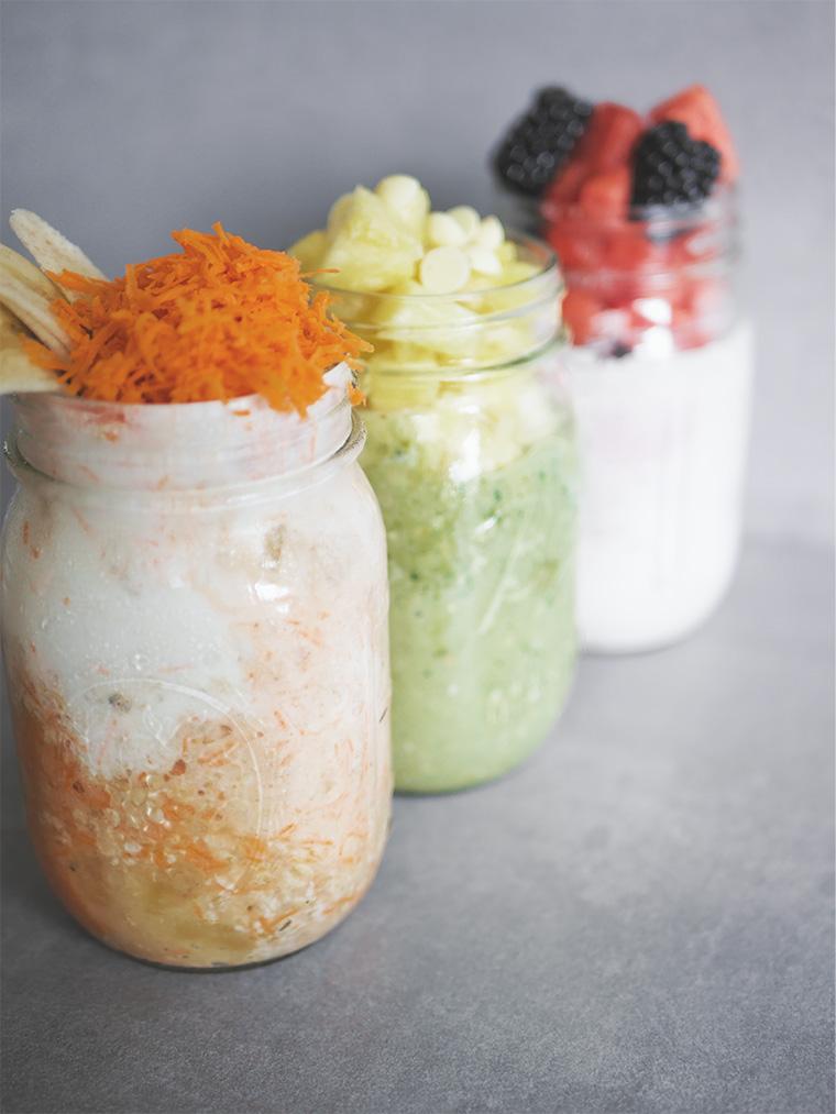 fitness rezepte für overnight oats