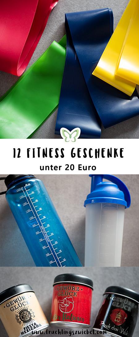 12 günstige Fitness Geschenke