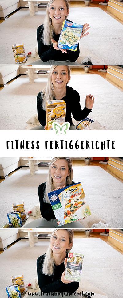 4 einfache Fitness Fertiggerichte