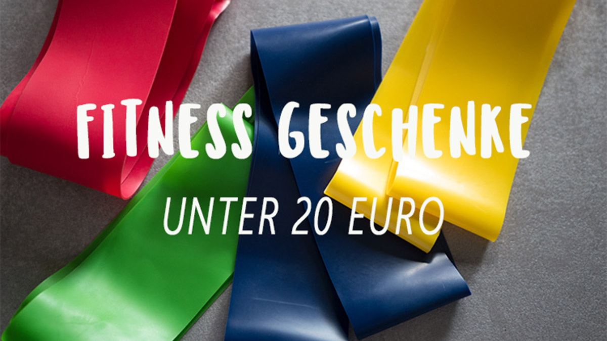 Weihnachtsgeschenke Unter 20.Fitness Geschenke Unter 20 Euro Geschenkideen Für Sportler