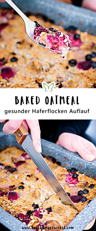 So machst du dir Baked Oatmeal