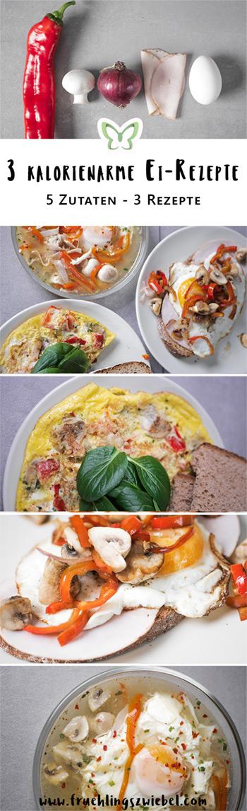 3 einfache und gesunde Rezepte mit Ei