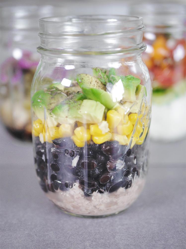 Thunfisch Salat aus dem Glas - highprotein