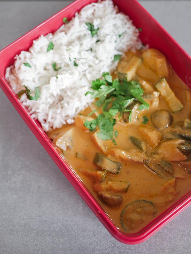 Massaman Curry - Mealprep fürs Büro - Asia Gericht