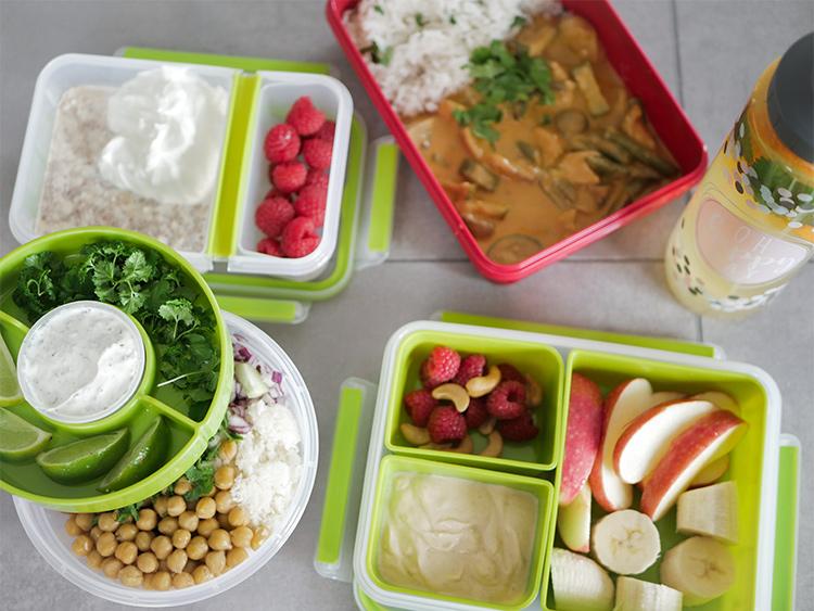 Gesunder Lunch fürs Büro - Full Day of Mealprep