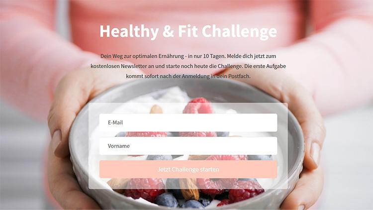 Kostenloser E-Mail Kurs zur gesunden Ernährung