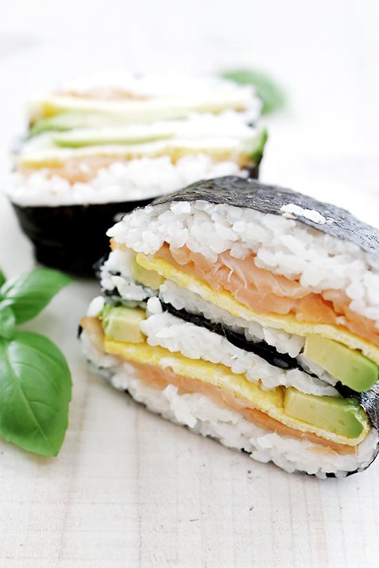 Einfaches Sushi Rezept - Reis Burger