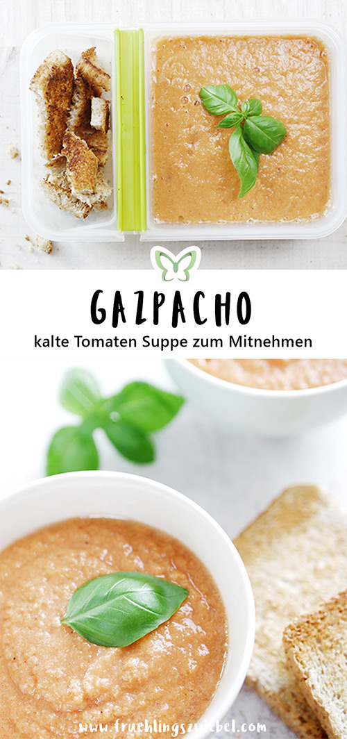Gazpacho Meal Prep Rezept