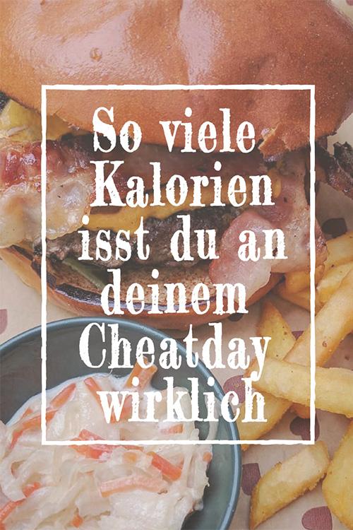 Warum du nicht abnimmst - so viele Kalorien hat dein Cheatday