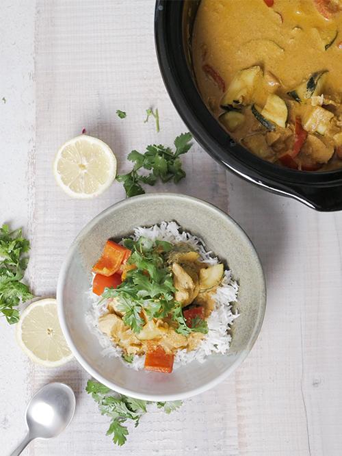 Gesundes Meal Prep Rezept aus dem Slowcooker: Indisches Gara Masala