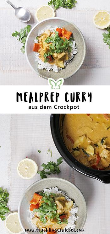 Meal Prep mit dem Crockpot: leckeres Curry in 5 Minuten