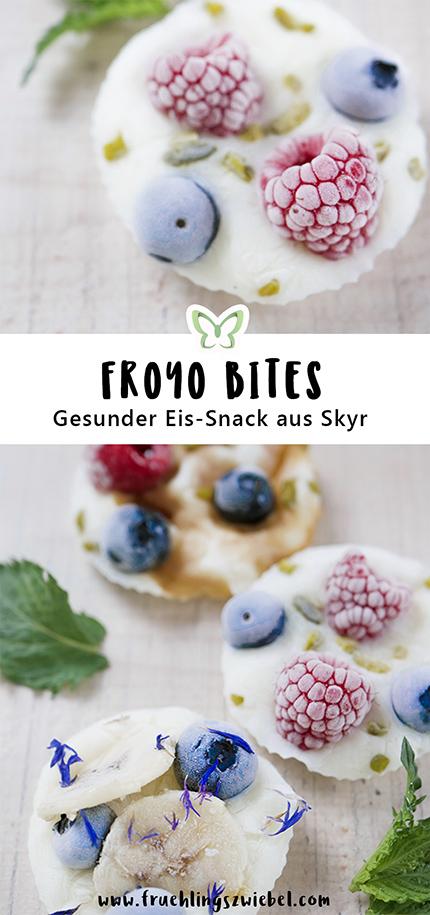 Frozen Joghurt Törtchen mit Skyr und Früchten - leckerer Eis-Snack zum selber machen. Cooler Instagram Hack für heiße Tage