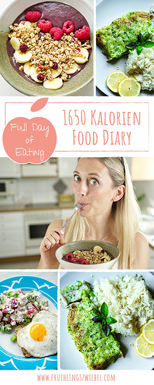 Food Diary zum Abnehmen - What I eat in a day
