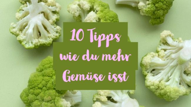 Gemüse essen zum Abnehmen - Rezepte und 10 Tipps