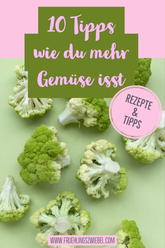 Abnehmen mit Gemüse? So integrierst du mehr Gemüse in deine tägliche Ernährung. Tipps und Rezepte