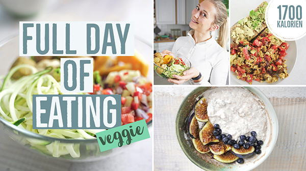 What I eat in a day zum Abnehmen