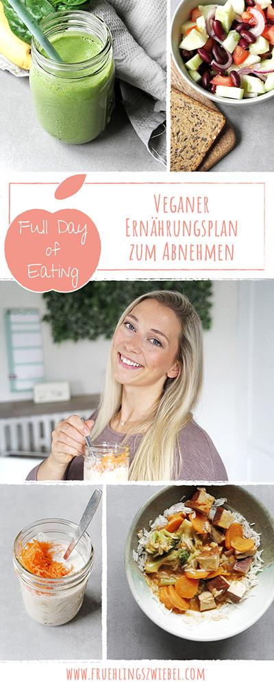Food Diary zum Abnehmen - VEGAN