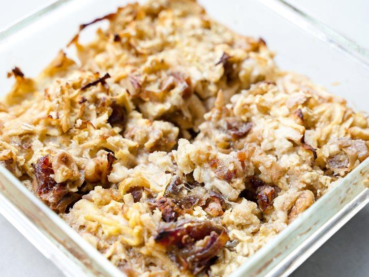 Rezept für baked oatmeal