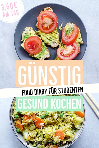 Günstig gesund kochen als Student