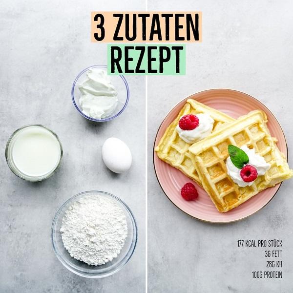 Protein Waffel Rezept