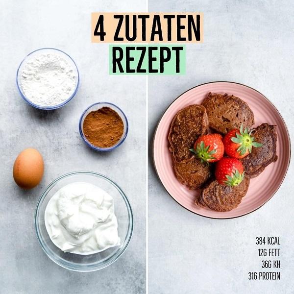 Schoko Quarkkäulchen Rezept