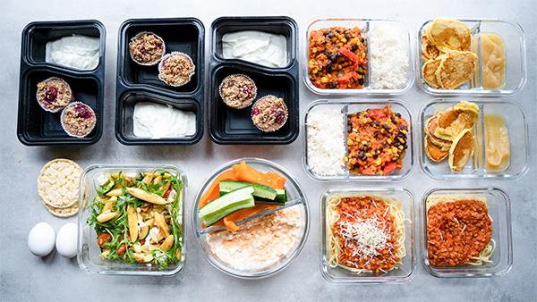 Meal Prep für die ganze Woche