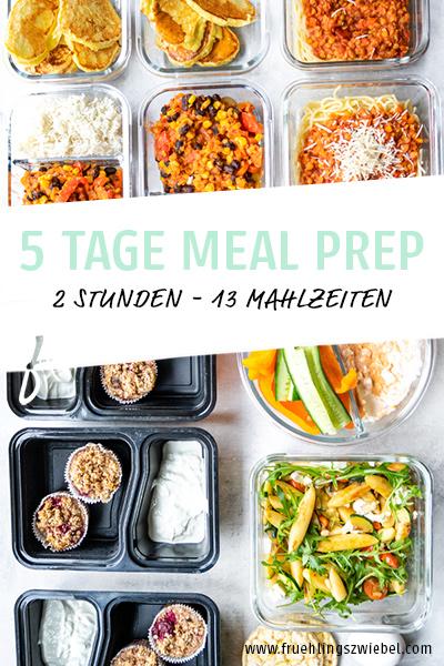 Zeit sparen mit Meal Prep