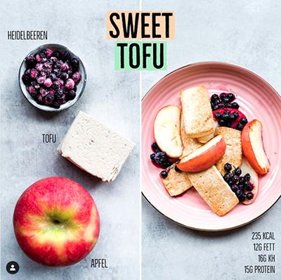 Sweet Tofu Rezept