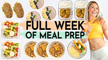 1 Woche Meal Prep