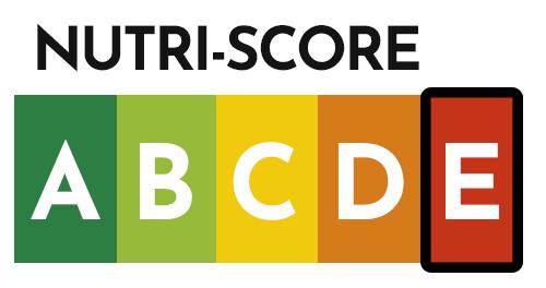 Was fällt unter Nutri-Score E