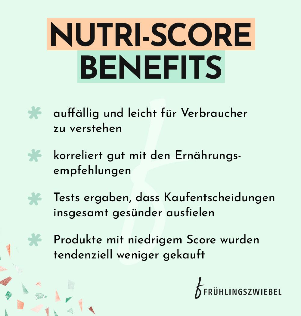 Vorteile Nutri-Score